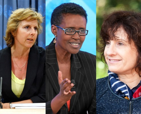 20 women making waves in the climate change debate