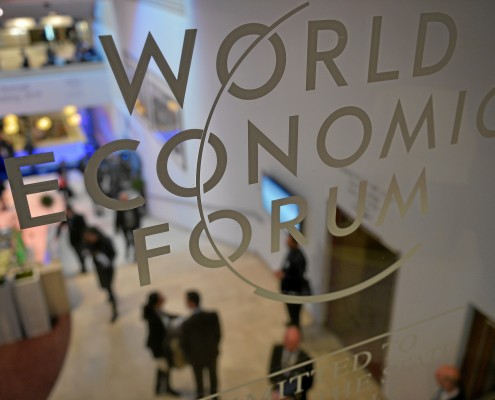 World Economic Forum Logo. Photo: World Economic Forum/ CC BY-NC-SA 2.0