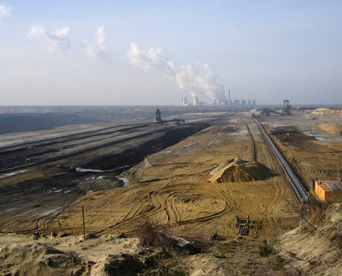 Coal strip mine near Cottbus, Germany. Photo: Martin Schmid/CC BY-ND 2.0