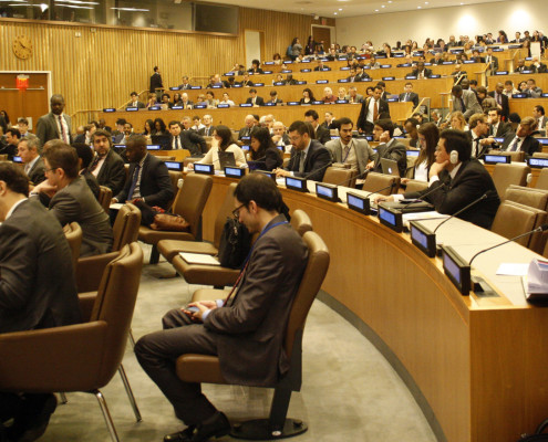 Delegates at the 2nd drafting session for FFD
