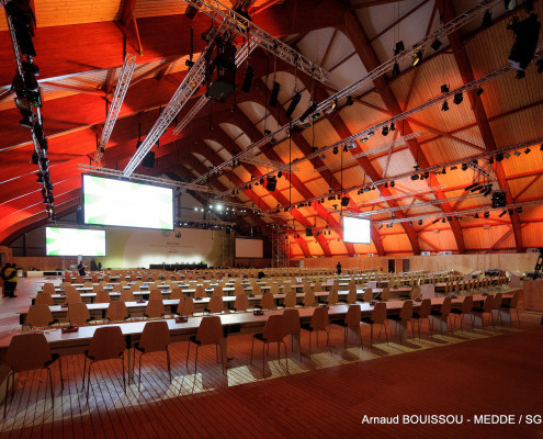 Plenary Room at Le Bourget